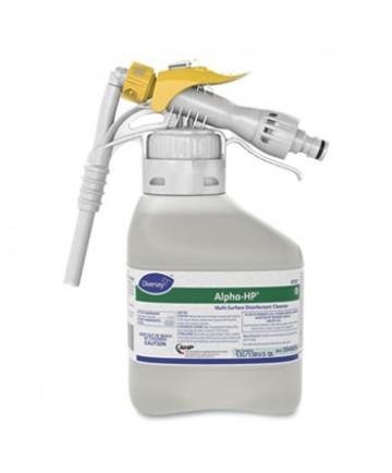 Alpha-HP Multi-Surface Disinfectant Cleaner, Citrus Scent, 1.5 L RTD Spray Bottle, 2/Carton