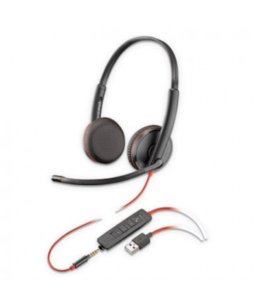 Blackwire 3225, Binaural, Over the head Headset