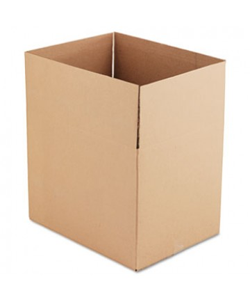 """Fixed-Depth Shipping Boxes, Regular Slotted Container (RSC), 24"""" x 18"""" x 18"""", Brown Kraft, 10/Bundle"""