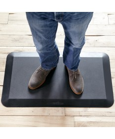 THE MAT 34 TM Supports your feet, knees, hips and back as you work