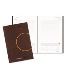 EXECUTIVE WEEKLY/MONTHLY APPOINTMENT BOOK, 6 5/8 X 8 3/4, WHITE, 2019