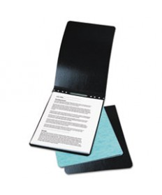 Presstex Report Cover, Top Bound, Prong Clip, Letter, 3 Cap, Black