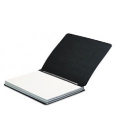 Presstex Report Cover, Side Bound, Prong Clip, Letter, 3 Cap, Black