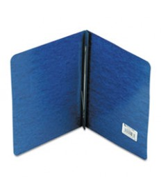 Presstex Report Cover, Side Bound, Prong Clip, Letter, 3 Cap, Dark Blue