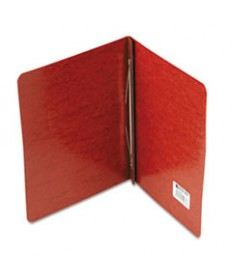 Presstex Report Cover, Side Bound, Prong Clip, Letter, 3 Cap, Red