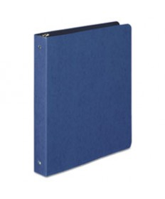 """Presstex Report Cover, Side Bound, Prong Clip, Legal, 3"""" Cap, Red"""