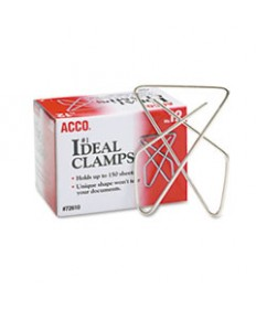 PAPER CLIPS, JUMBO, SILVER, 1,000/PACK