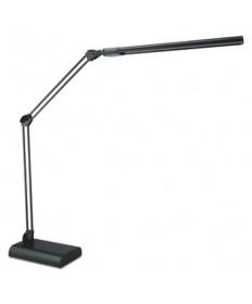 "ADJUSTABLE LED DESK LAMP, 3.25""W X 6""D X 21.5""H, BLACK"