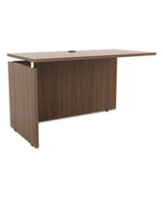 Alera Sedina Series Straight Front Desk Shell, 72w X 36d X 29 1/2h, Espresso
