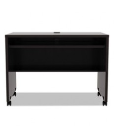 Alera Valencia Series Mobile Workstation Desk, 41 3/8 X 23 5/8x 29 7/8, Espresso