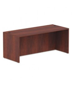 ALERA VALENCIA SERIES STRAIGHT FRONT DESK SHELL, 71 X 29.5 X 29.5, MED CHERRY