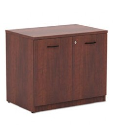 Alera Valencia Box/box/file Full Pedestal, 15 5/8w X 20 1/2d X 28 1/2h, Mahogany