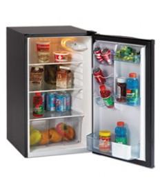 4.4 Cf Auto-Defrost Refrigerator, 19 1/2w X 22d X 33h, Black