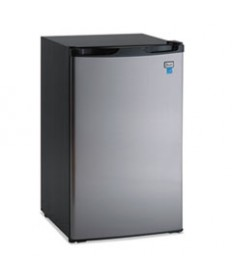 4.4 Cf Refrigerator, 19 1/2w X 22d X 33h, Black/stainless Steel