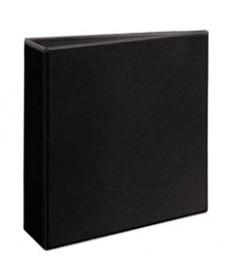 Durable View Binder W/slant Rings, 11 X 8 1/2, 3 Cap, Black