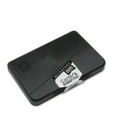 PRE-INKED MICROPORE STAMP PAD, 4.25 X 2.75, BLACK