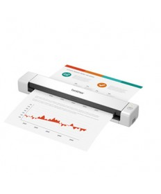 DS-640 Compact Mobile Document Scanner, 600 dpi Optical Resolution, 1-Sheet Auto Document Feeder