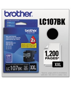 LC1072PKS INNOBELLA SUPER HIGH-YIELD INK, 1,200 PAGE-YIELD, BLACK, 2/PACK