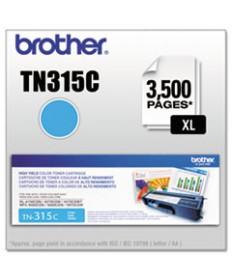TN315BK HIGH-YIELD TONER, 6,000 PAGE-YIELD, BLACK
