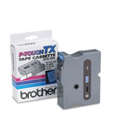 Tx Tape Cartridge For Pt-8000, Pt-Pc, Pt-30/35, 1w, Black On Red