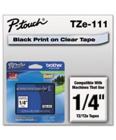 Tx Tape Cartridge For Pt-8000, Pt-Pc, Pt-30/35, 1w, Black On Fluorescent Orange