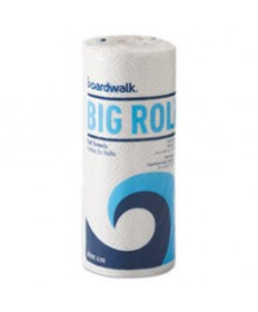 Office Packs Perforated Paper Towel Rolls, 2-Ply, White, 5.5x11,140/roll,12/ct