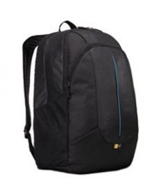 Prevailer 17 Laptop Backpack, 12 1/2 X 12 1/4 X 18, Black With Blue Accent