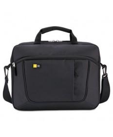 "Laptop and Tablet Slim Case, 15.6"", 16 1/2 x 3 1/5 x 12 4/5, Black"