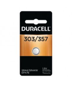 BUTTON CELL BATTERY, 303/357, 1.5V, 6/BOX