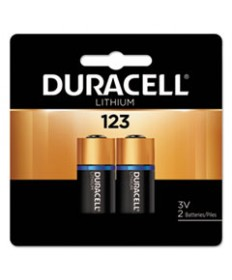 Ultra High-Power Lithium Battery, 123, 3v, 2/pack