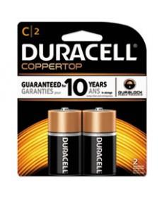 Coppertop Alkaline Batteries, C, 2/pk