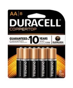 Coppertop Alkaline Batteries, Aa, 8/pk