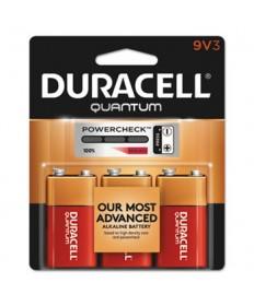 Quantum Alkaline Batteries, 9v, 3/pk, 36 Pk/ct