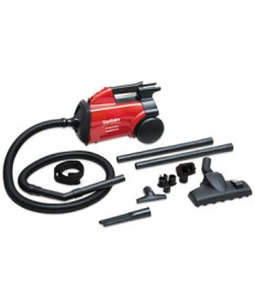 EXTEND Canister Vacuum, 10 lb, Red