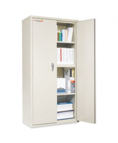 STORAGE CABINET, 36W X 19 1/4D X 72H, UL LISTED 350 DEGREE, PARCHMENT