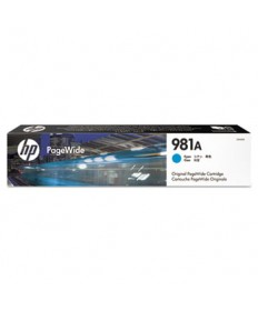 HP 981A, (J3M68A) Cyan Original PageWide Cartridge