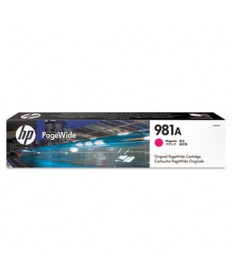HP 981A, (J3M69A) Magenta Original PageWide Cartridge