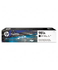 HP 981A, (J3M71A) Black Original PageWide Cartridge