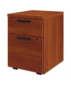 Box/File Mobile Pedestal for 10500/10700 Shells, 15.75w x 18.88d x 21.88h, Cognac
