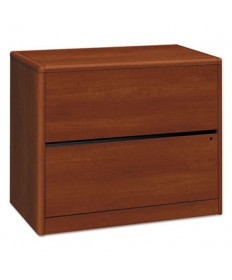 10700 Series Two Drawer Lateral File, 36w x 20d x 29.52h, Cognac