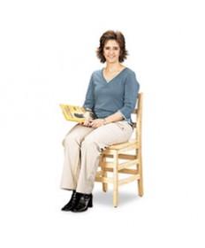 Kydz Series Ladderback Chair, 18 High Seat, 2/carton