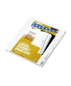 80000 Series Legal Index Dividers, Side Tab, Printed 51, 25/pack
