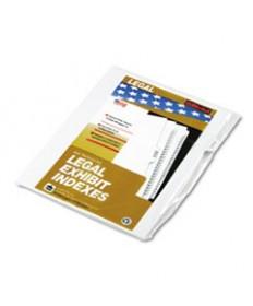 90000 Series Legal Exhibit Index Dividers, Side Tab, Printed 29, 25/pack