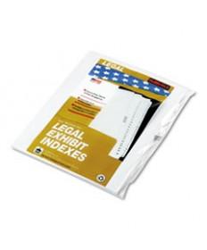 90000 Series Alpha Side Tab Legal Index Divider, Preprinted l, 25/pack
