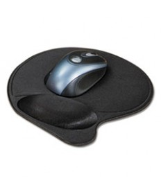 Extra-Cushioned Mouse Wrist Pillow Pad, Black