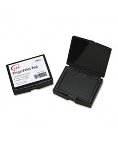 Inkless Fingerprint Pad, 2 1/4 X 1 3/4, Black