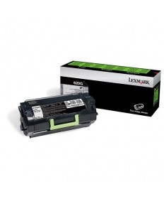 Lexmark (620G) Return Program Toner Cartridge for US Government (6,000 Yield) (TAA Compliant Version of 62D1000