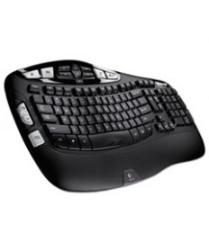 K350 Wireless Keyboard, Black
