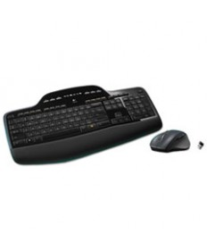 Mk710 Wireless Desktop Set, Keyboard/mouse, Usb, Black