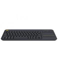 Wireless Touch Keyboard K400 Plus, Black